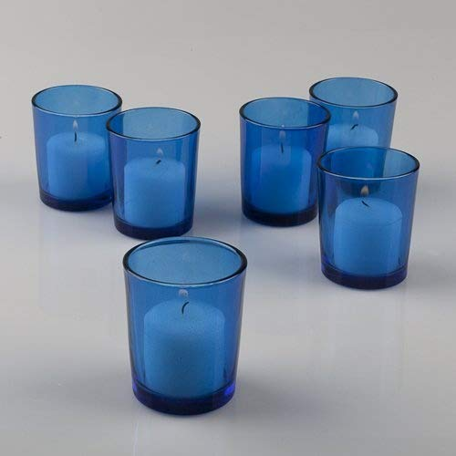 Colored Votive Candle Holders Set of 72, Blue