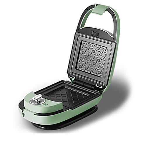 Grille-Pain Gaufrier Compact Sandwicherie Chauffage Double Face Facile À Nettoyer Mise Hors Tension Automatique 650W