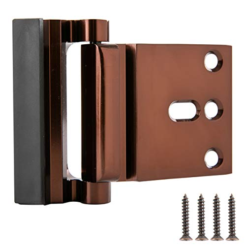 AmazonBasics Door Reinforcement Lock, Oil Rubbed Bronze