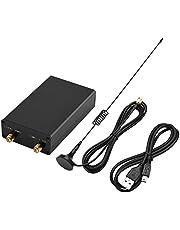Richer-R Receptor de Sintonizador Ondas de 100KHz-1.7GHz para Am,FM (NFM, WFM),CW,DSB,LSB,USB.Receiver para Escuchar Am,Radio de Onda Corta,Radio FM,Recibir/Decodificar Señales de GPS