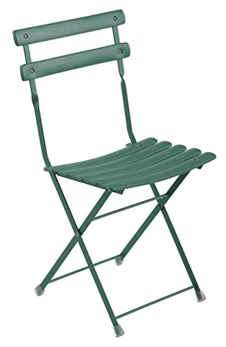 Emu Arc en Ciel Folding Chair Item.314 Color Dark Green Oil Cod. 75