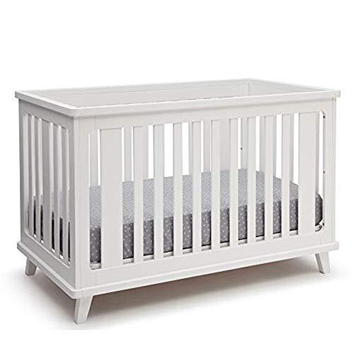 Delta Children Ava 3-in-1 Convertible Baby Crib, White