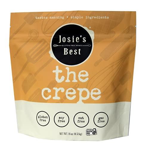 Josie's Best Crepe Mix (Gluten Free, Soy Free, Nut Free, GMO Free) tastes amazing | simple ingredients 18oz.