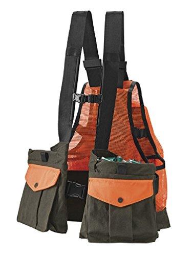 Orvis Waxed Cotton Strap Vest, Olive Blaze, XL/XXL
