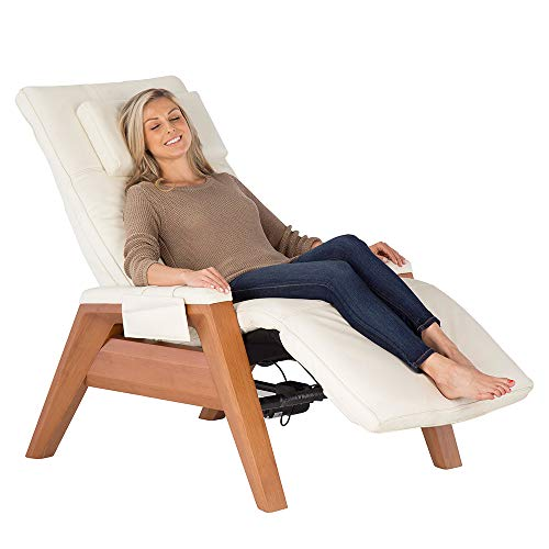 Human Touch Set Gravis ZG Chair w/Zero-Gravity Seat, Air Massage Technology, One Size, Bone Pad