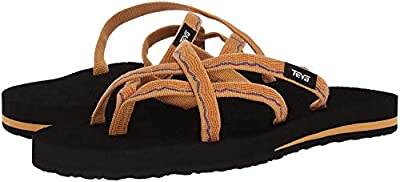 Teva Women's Olowahu Sandals (Felicitas Black,5B)