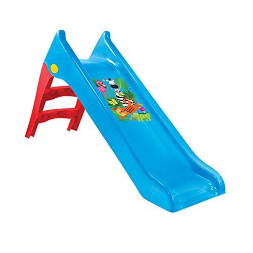 Mochtoys Kinderrutsche 11965, Wasserrutsche, 140 cm Rutschlänge, wetterfest, Farbe:blau