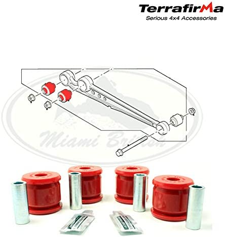 LAND ROVER REAR RADIUS ARM Max 79% OFF BUSH AXLE KIT TF1008 Complete Free Shipping II END DISCOVERY