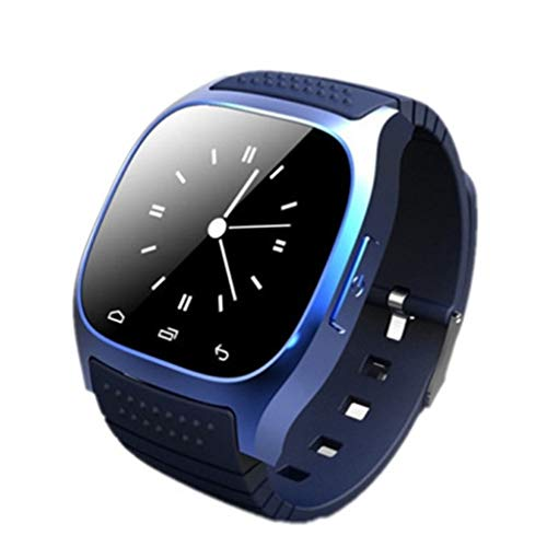 Huiingwen M26 Muñeca Impermeable Bluetooth Smart Watch LED Pantalla Podómetro Fitness Tracker Reproductor de Música Llamada Smartwatch
