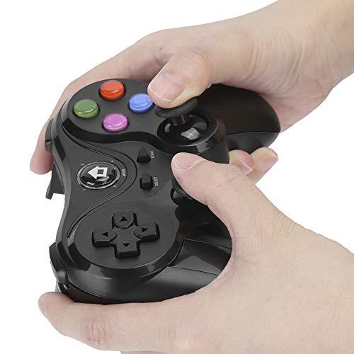 Controlador de juegos inalámbrico, Gamepad de conexión directa ajustable, Accesorio de mango inalámbrico para juegos de TV de PC de múltiples funciones, Joystick de juegos portátil para teléfonos inte