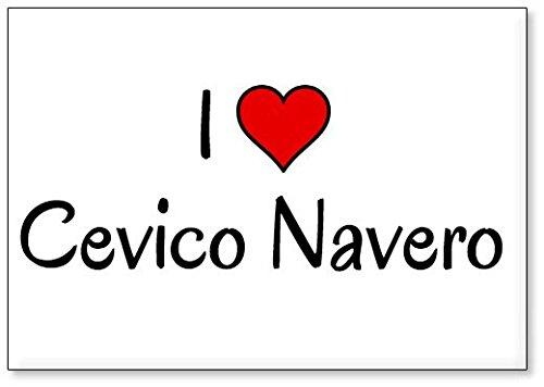 Mundus Souvenirs - Amo Cevico Navero, Imán para Nevera (diseño 2)