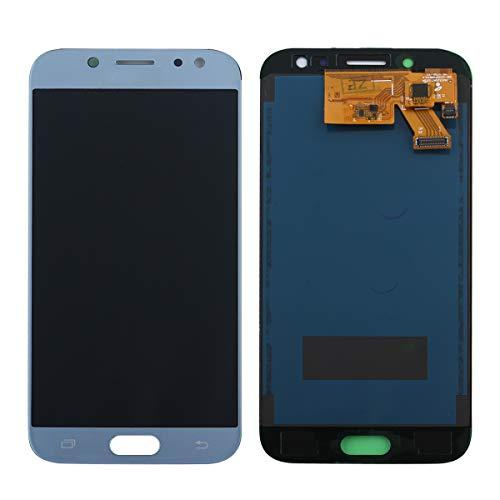 West Dragon LCD Touchscreen für Samsung Galaxy J5 2017 Display Ersatz Bildschirm Komplettes mit Werkzeuge für Samsung Galaxy J5 2017 J530 SM-J530F (Blau)