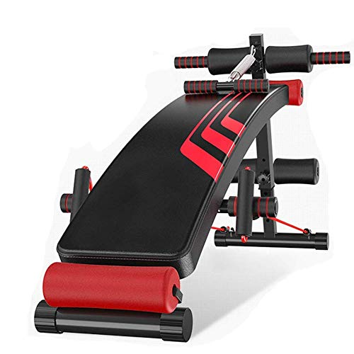 SXXYTCWL Multi-Funktions-Flachbank Bauchmuskeln trainieren Sit Up Bench Home Training Sports Assisted Gym Workout Bench Fitnessgeräte jianyou