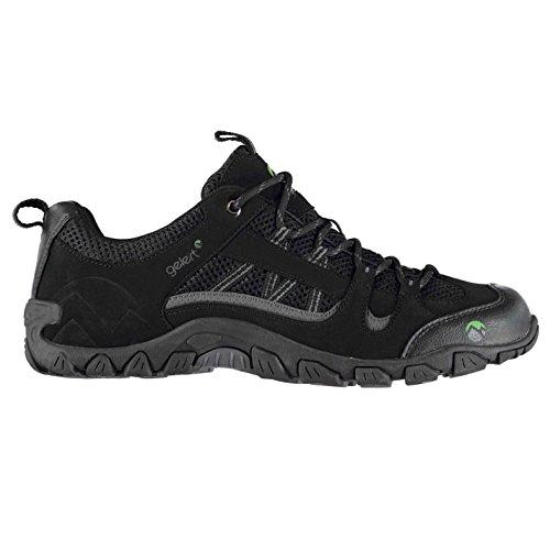 Gelert Herren Rocky Wanderschuhe Outdoor Schuhe Schwarz 8 (42)