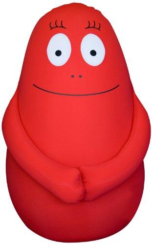 Leblon Delienne barhs100ro Cover für Candy Floss Sitzwürfel 100cm rot