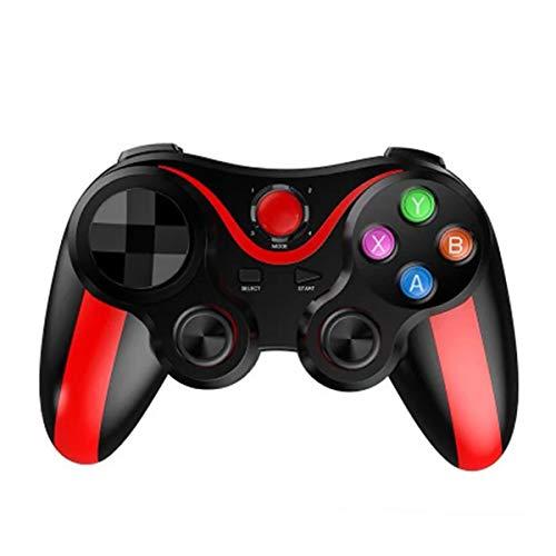 HALASHAO Controlador inalámbrico PS3, Controlador de Juegos PS3 con Soporte Ajustable Independiente, Playstation 3 Controlador para el teléfono móvil/PC/Tablet / PS3