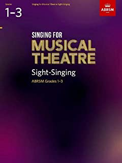 Singing for Musical Theatre Sight-Singing, ABRSM Grades 1-3, from 2019 (ABRSM Sight-reading)
