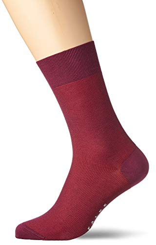 Falke Fine Shadow Chaussette Homme Rouge FR : 2XL (Taille Fabricant : 45-46)