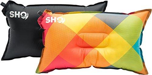 Your Pillow! Von SHO – Das Ultimative Selbstaufblasende Reisekissen Für Reise, Camping Und Festivals (Mehrfarbig)