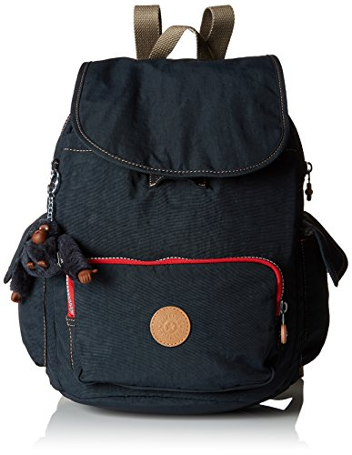 Kipling City Pack S, Women's Backpack, Blue (True Navy C), 27x33.5x19 cm (W x Dx H)