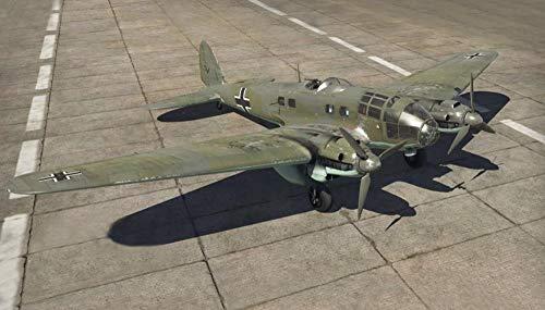 Italeri IT1436 Modellino Veicolo da Guerra In Plastica da Montare, He 111 H-6 Battle Of Britain 80Th Ann., Scala 1:72