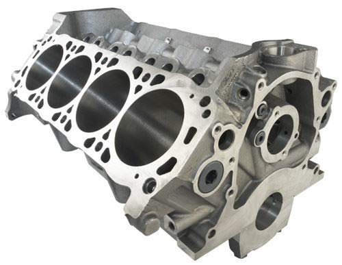 Engine, Boss 302, Bare Block, 3.990 in Bore, 8.200 Deck, 4-Bolt Main, 1 Piece Seal, Iron, Small Block Ford, Each