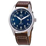 IWC Pilot Mark XVIII 'Petit Prince' automatico orologio da uomo quadrante blu IW327010