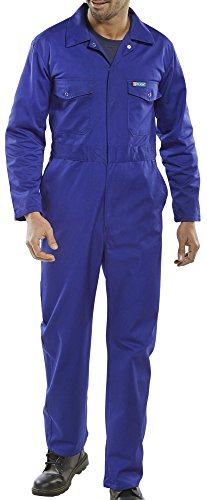 Beeswift ltd Click Workwear Poly-Cotton Boiler Suit Royal Size 36