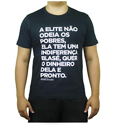 Camiseta Preta Exclusiva A Elite - Jessé Souza (M)