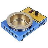 Soldadura Baño de desoldadura, Soldadura de olla de soldadura, Sólido firme Fácil de mantener para estañado de clavijas de bobina electrónica(US standard 110V)