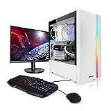 Pack Gaming - Megaport PC Intel Core i5-10600K • 24' Full-HD Monitor • Teclado y ratón Gaming • GeForce GTX1660 Super 6GB • 16GB RAM • 500GB M.2 SSD • Windows 10 • PC Gamer • Ordenador de sobremesa