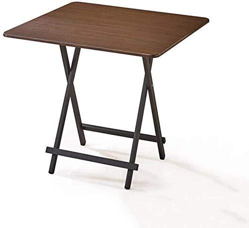 NMDD Mesas Escritorio Plegable Estructura de Acero al Carbono TV Bandejas para computadora portátil Oficina en casa Cena Multifunción (Color: T3)