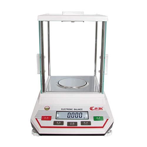 YZSHOUSE 0.001g Alta Precisión Escala Electrónica Laboratorio Análisis Balance con LED Monitor Tara Y PCS, Peso De Calibración Balanza De Plataforma (Size : 100g/0.001g)