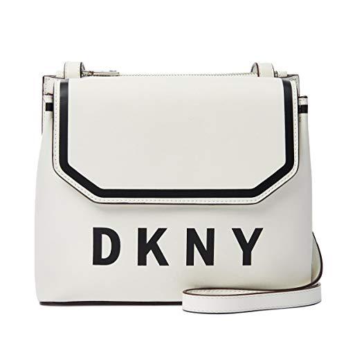 DKNY Jade Flap Crossbody (White)