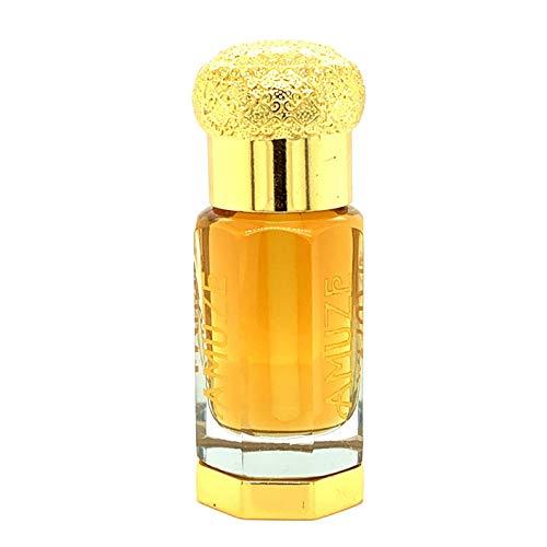 of cruelty free mens colognes Arabian Smoky Oud, 3 ml | Premium Perfume Oil | Attar Oil | Alcohol-Free | Vegan & Cruelty-Free | by Amuze Fragrance
