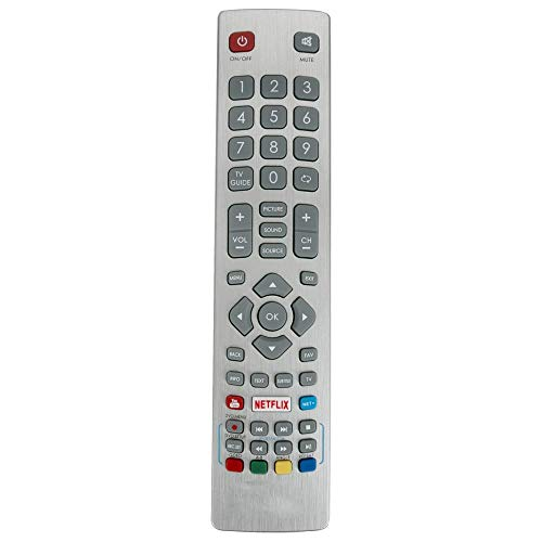 Miwaimao New SHWRMC0115 Replaced Remote Control fit for Sharp AQUOS DH-2087 DH-2088 LC-40UI7352K 4K Ultra HD Smart 40-Inch TV
