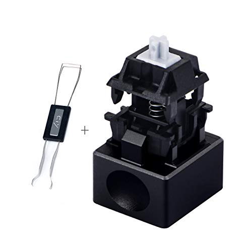 Aluminum Alloy Switch Opener with Keycap Puller for Cherry MX Switches – Black
