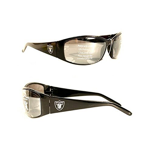Siskiyou Las Vegas Raiders Sonnenbrille - Black Straight - Sunglasses
