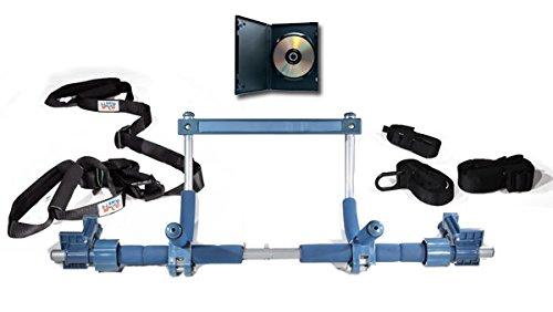 Gorila gimnasio Ultimate Fitness paquete para un entrenamiento completo (núcleo marco, suspensión correas, y DVD)