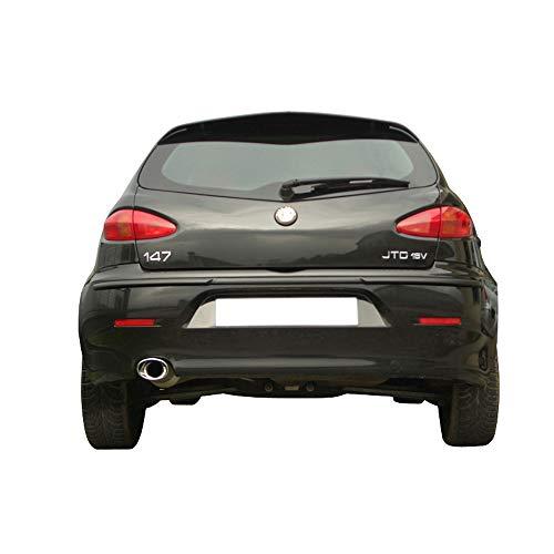 Inoxcar AL147.03.120 Sportauspuff 100% Inox für Alfa Romeo 147 1.9 JTD 2002-120x80mm