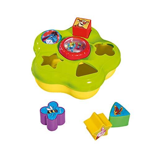 Simba- Trieuse de Forme de Fleur Set Winnie l'ourson 5 pièces, 109331011