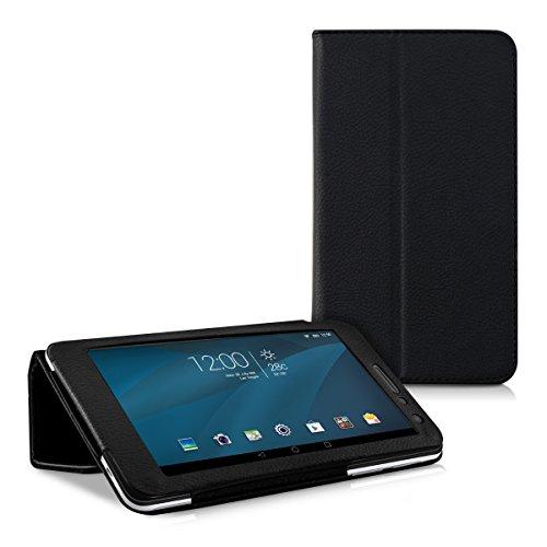 kwmobile Huawei MediaPad T1 7.0 Hülle - Tablet Cover Case Schutzhülle für Huawei MediaPad T1 7.0 - Schwarz mit Ständer - 5