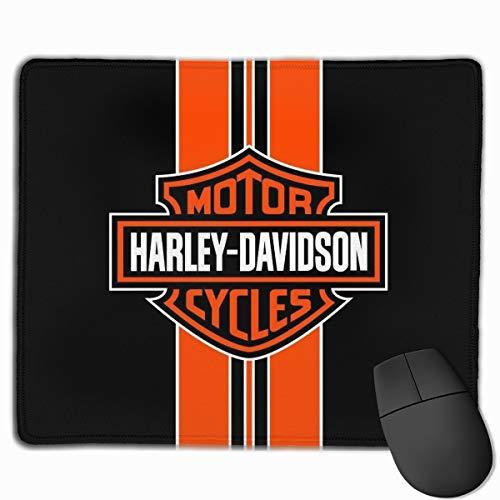 N / A Tapis de souris Harley Davidson - Tapis de souris - Tapis de bureau imperméable et antidérapant - Pour ordinateur - 25 x 30 cm