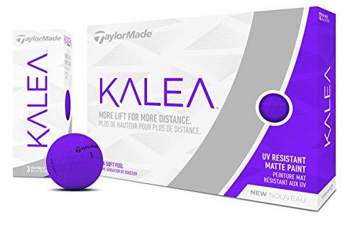 TaylorMade Kalea Damen Golfball Dutzend, Damen, M7160001, violett, One Dozen
