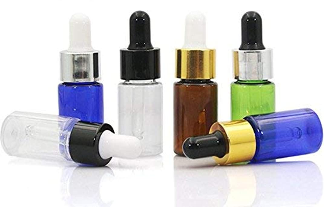 リサイクルするジョセフバンクス間接的VNDEFUL10 PCS Refillable Essential Oil Dropper Bottles Containers with Glass Eye Dropper Cosmetics Makeup Small Sample Container Jar Holder(10ML) [並行輸入品]