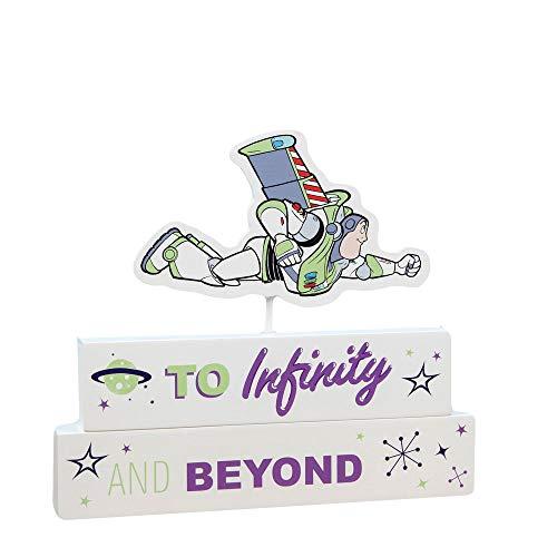 Widdop Disney Pixar Toy Story 4 Buzz Lightyear - Bloque de mantel, para habitación de niños, decoración de cuarto de bebé, regalo DI623