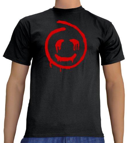 Touchlines Unisex/Herren T-Shirt Red John - The Mentalist, Black, S, B1754