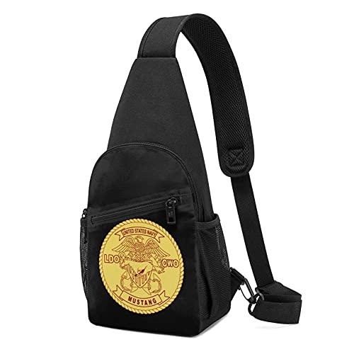 DJNGN United States Navy Mustang Ldo Cwo Brustrucksack Brustpackung Ultraleichter Rucksack