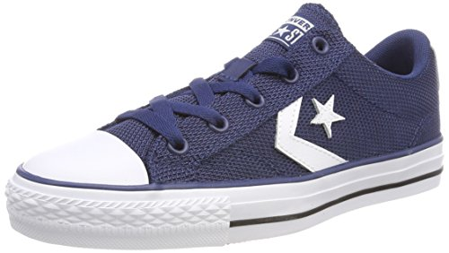 Converse Unisex-Erwachsene Star Player OX Sneaker, Blau (Navy/White/Black 426), 39 EU