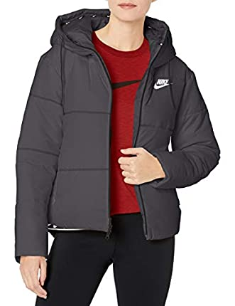 NIKE Sportswear Synthetic-Fill Chaqueta, Mujer, Black/White, XS